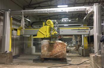 ST Máquina de corte de bloques de mármol y granito
